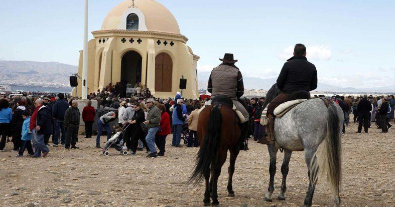Enero no tendrá romería, pero se harán cultos especiales a la Virgen del Mar
