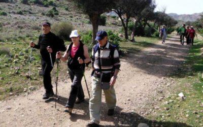 Ruta senderista por Tabernas el 17