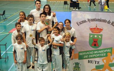 El Club de Taekwondo 301 Team  se trae a Almería 5 medallas del Andaluz Junior