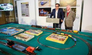 'Trenes a escala' @ Patio de Luces de la Diputación Provincial, C/ Navarro Rodrigo, 17.  | Almería | Andalucía | España