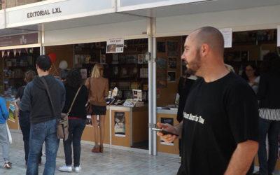 El carril 'biosaludable' del Paseo, sede de la Feria del Libro