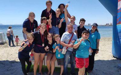 'Los Troncos' consigue 8 medallas en Murcia