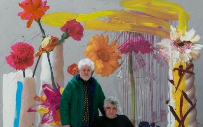 Pedro Almodóvar inaugura el  viernes en el CAF una muestra de fotografías sobre pintura de Jorge Galindo