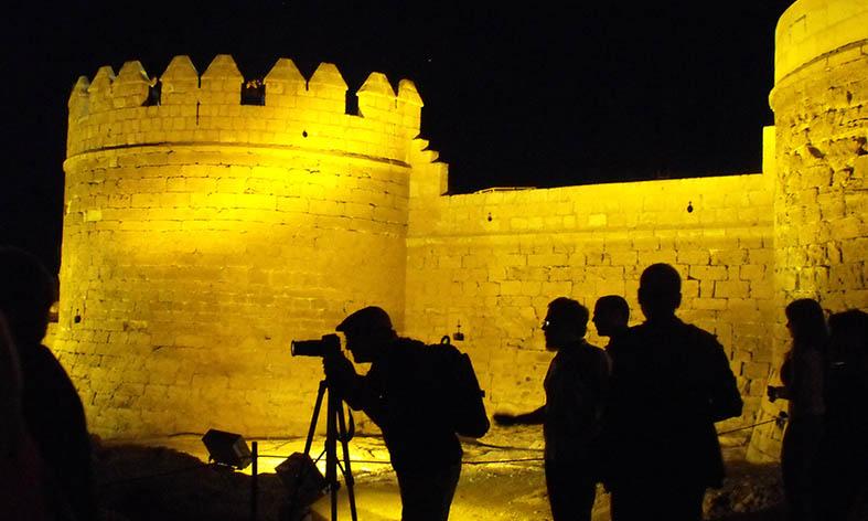 Setenta actividades nocturnas para disfrutar el verano en La Alcazaba