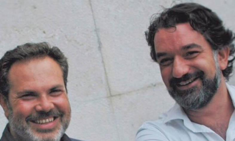 Esteban Ocaña y Doménico Codispoti