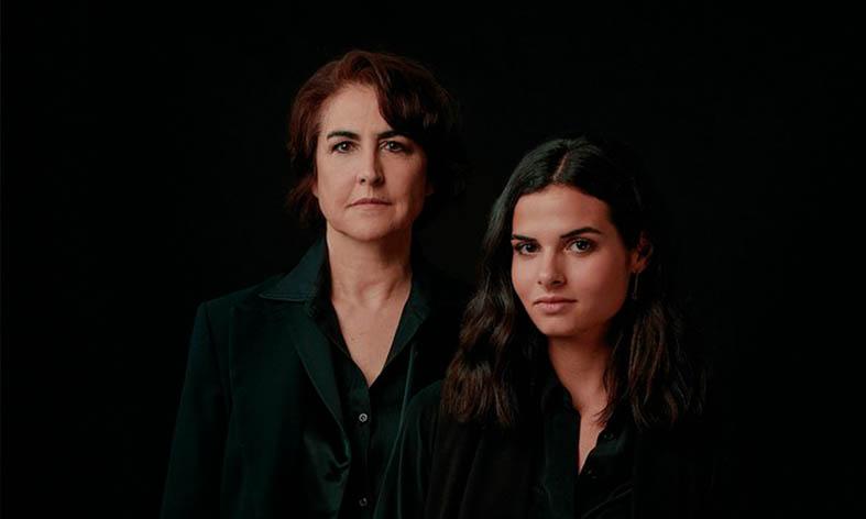 Rosa Torres y Clara Muñiz