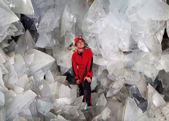 Pulpí, interior de cristal