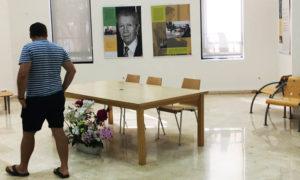 'Manuel Alcántara: Las columnas y los versos' @ Biblioteca Francisco Villaespesa, Calle Hermanos Machado, s/n, Almería | Almería | Andalucía | España