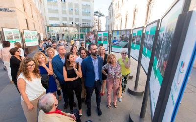 La exposición de los 40 años de Verdiblanca permanece en Las Almadrabillas