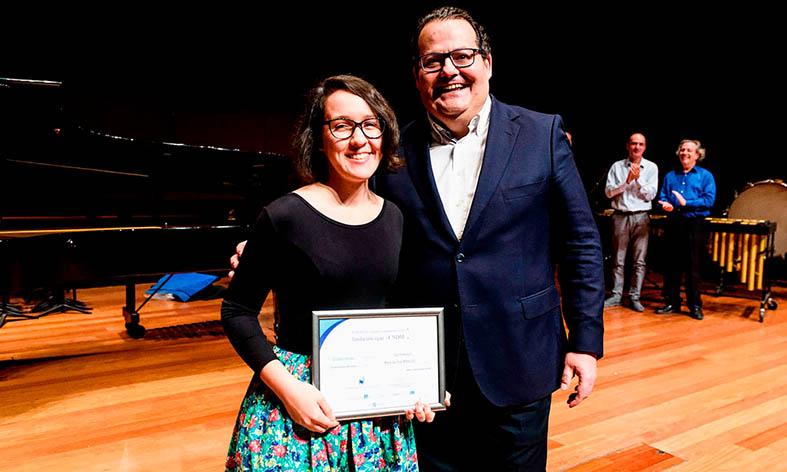 La joven almeriense Miralles se alza con el segundo premio de composición de la SGAE