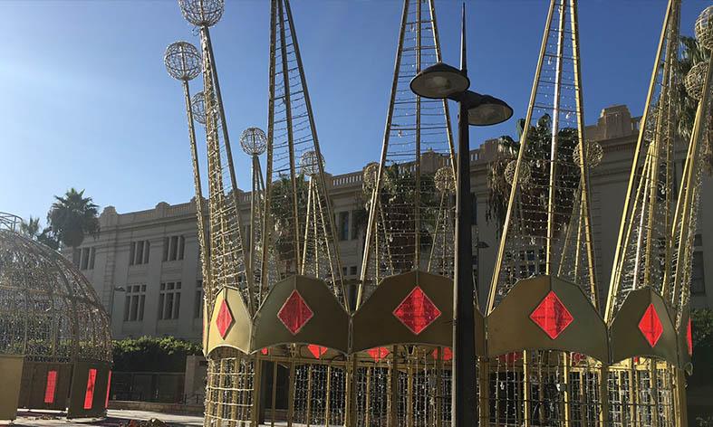 Los puestos navideños se ubicarán también en el Paseo