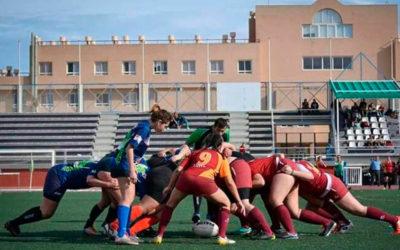 Los 'Leones7s' se preparan en el campo de la Brigada Alfonso XIII para la Madrid Rugby 7s