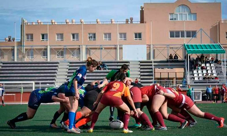 El femenino de rugby España-Escocia, el 19 en el Juan Rojas